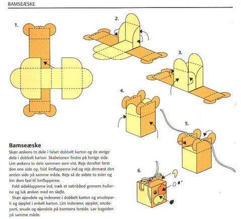Схемы поделок из бумаги и картона своими руками