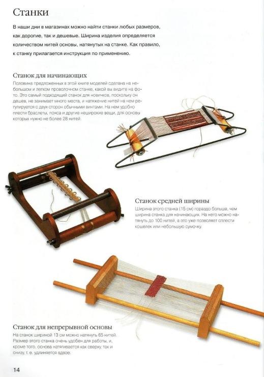 Станок для бисероплетения инструкция