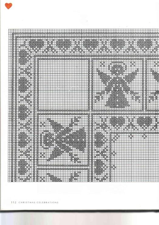 Схема для вязания скандинавский мотив