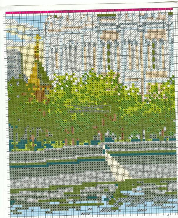 Схема вышивки храм христа 81