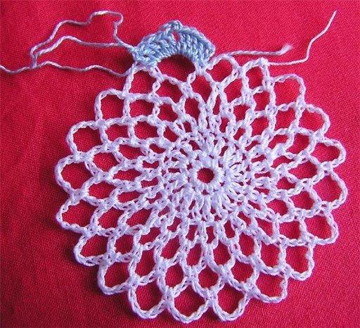 Вязание салфетки пошаговое