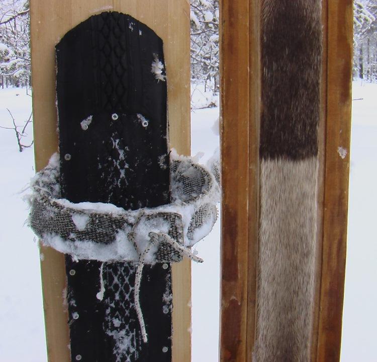 Камус на лыжи - изготовление и монтаж самостоятельно. - Talks