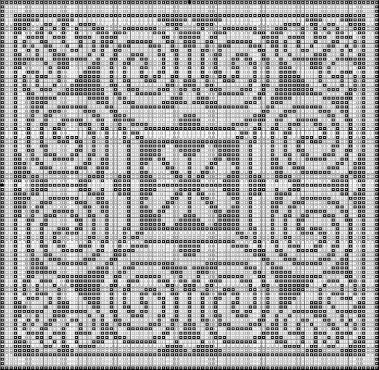 Вышивка крестом кельтские узоры 26
