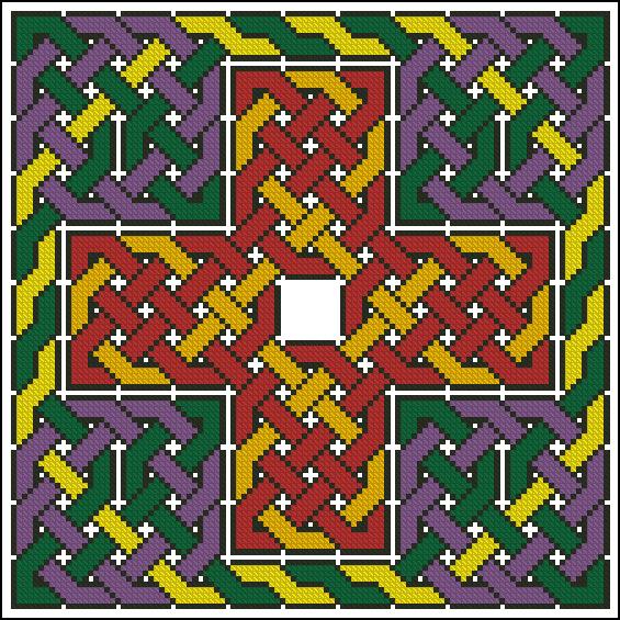 Кельтский орнамент в вышивке 544