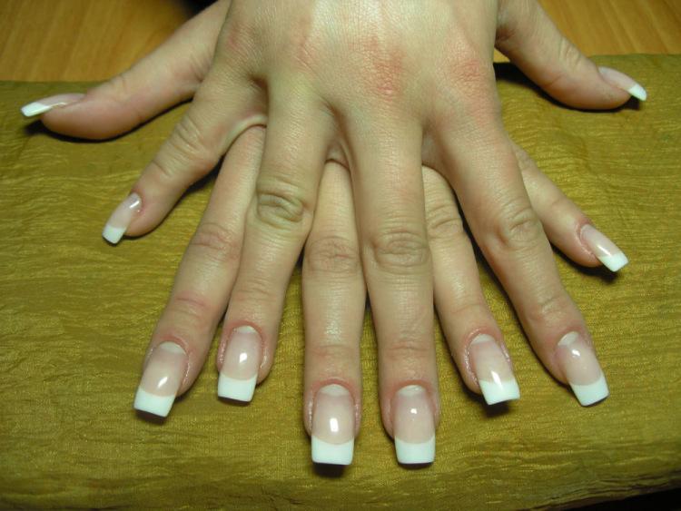 Фото нарощенных ногтей матов