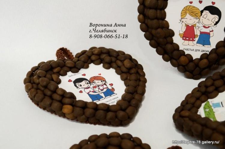 Кофейные магниты своими руками 100