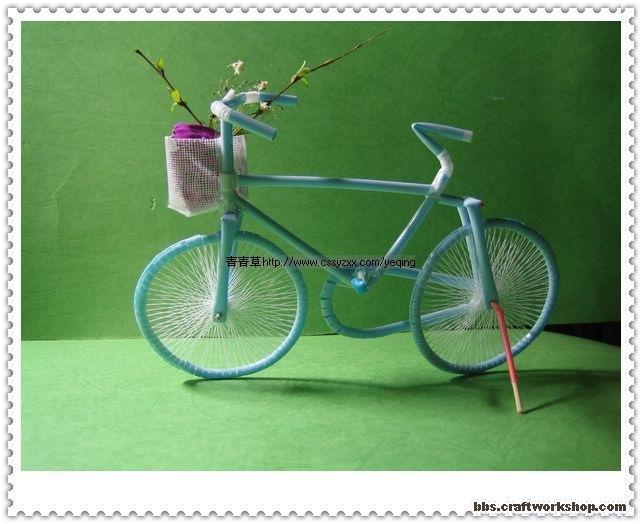 Как сделать макет велосипеда своими руками