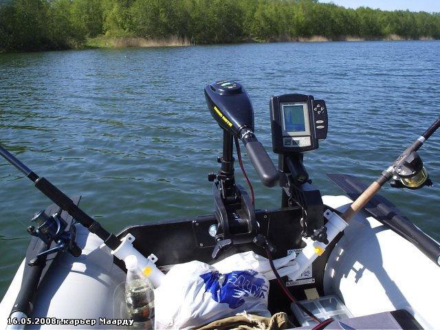 эхолот для рыбалки с лодки пвх видео