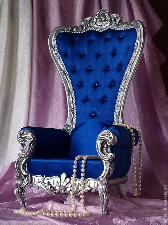Как сделать трон для куклы