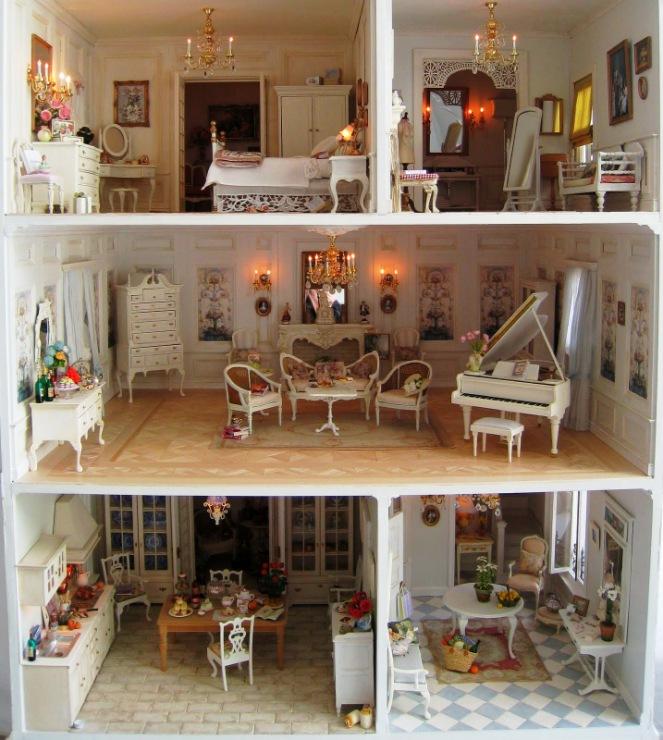 Мебель для миниатюры своими руками 896
