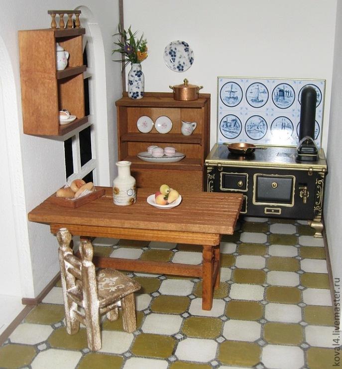 Кухня своими руками фото для кукол 187