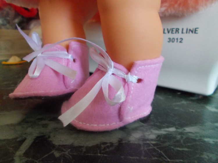 Туфельки для малышки своими руками 47