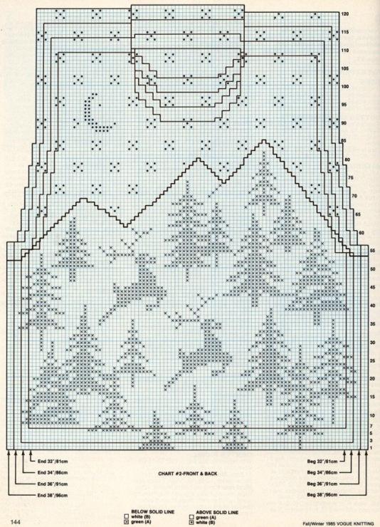 женский вязаный свитер с оленями c031