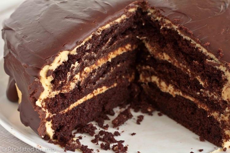 Шоколадные торты фото-рецепт