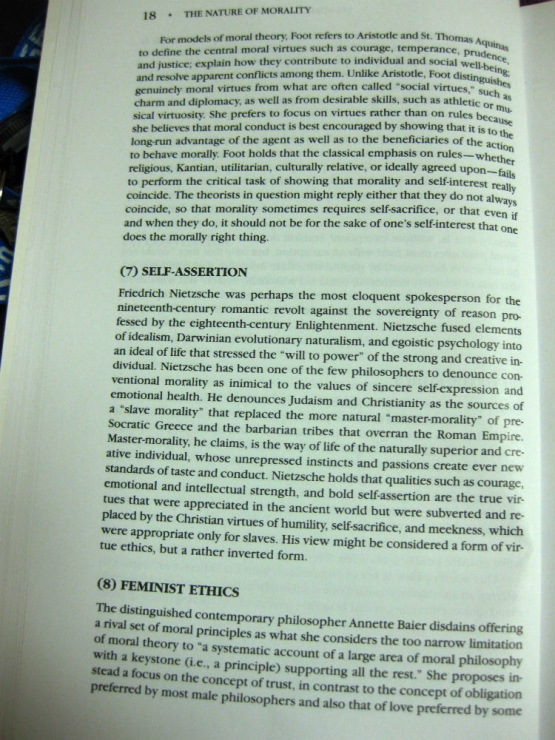 does morality override self interest Chapter 13 ethics and enlightened self-interest disk i21 printed june 1995 [or morality and the self] abstract morality seems opposed to making a success of business, but it.