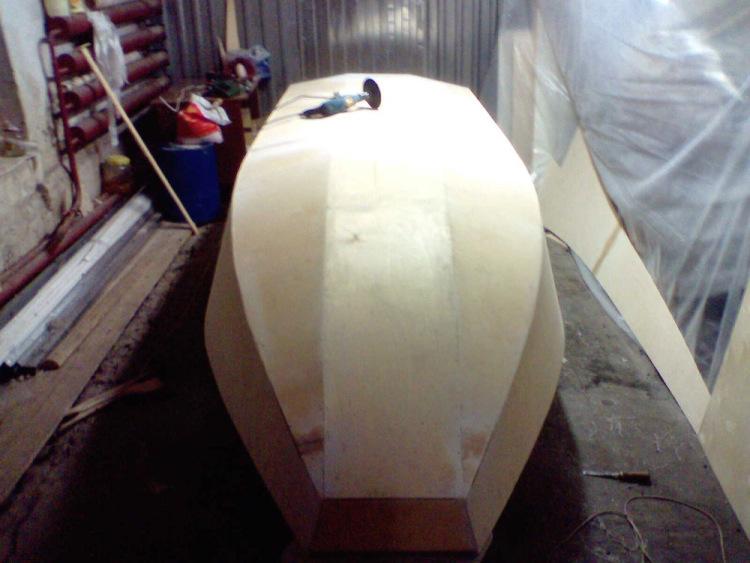 Лодка из пенопласта и стеклоткани своими руками 639