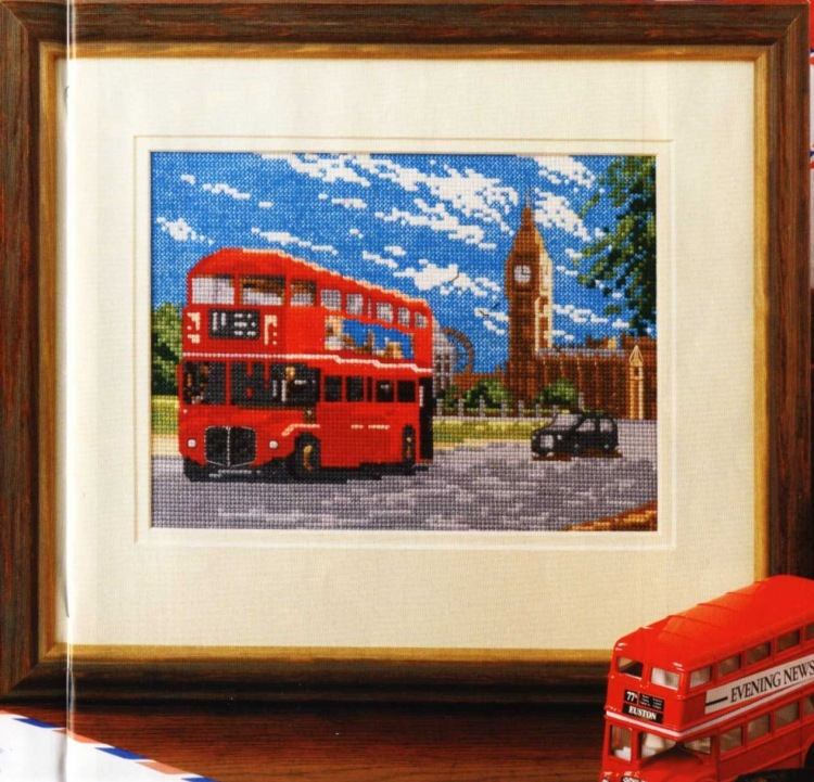 Лондон схема для вышивки 36